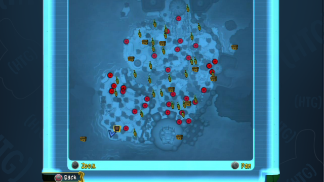 Sly Cooper Thieves in Time Episode 5 – All Treasure Locations Map