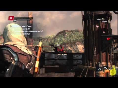 Assassin's Creed IV Black Flag: Sequence 8 Memory 1 (Do Not Go Gently…) 100% Sync – HTG