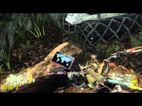 Crysis 3: Mission 2 – Welcome to Jungle Collectables (Intel and Nanosuits) – HTG