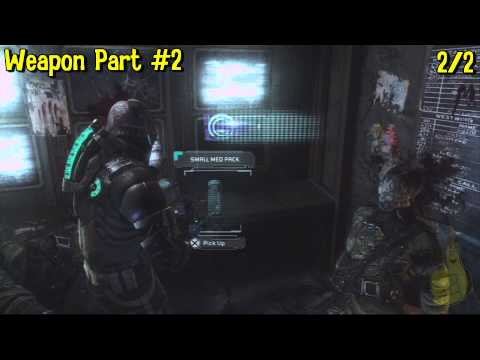 Dead Space 3: Chapter 15- All Collectibles Locations(Artifacts, Logs, Weapon Parts & Circuits) – HTG