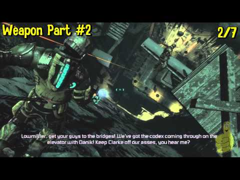 Dead Space 3: Chapter 16- All Collectibles Locations(Artifacts, Logs, Weapon Parts & Circuits) – HTG
