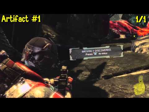 Dead Space 3: Chapter 19- All Collectibles Locations(Artifacts, Logs, Weapon Parts & Circuits) – HTG