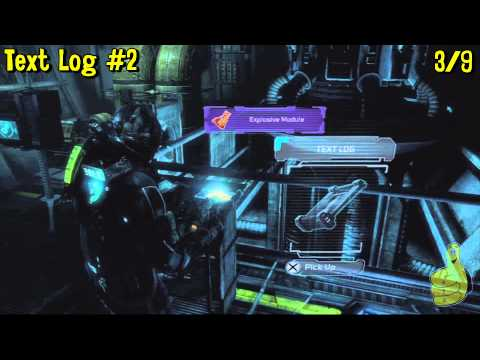 Dead Space 3: Chapter 4- All Collectibles Locations(Co-op Mission- CMS Brusilov) – HTG
