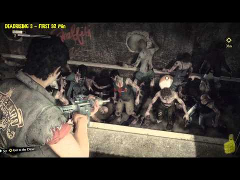 Deadrising 3: First Look (First 30 Minutes of DeadRising 3 gameplay) – HTG