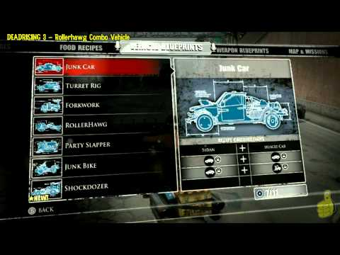 Deadrising 3: Rollerhawg Combo Vehicle (Equipped with flamethrower!!) – HTG