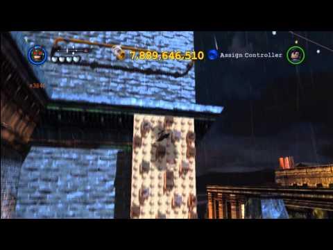 Lego Batman 2 DC Super Heroes: Central Gotham City Gold Brick Locations 3 of 3 – HTG