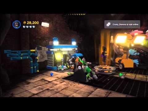 Lego Batman 2 DC Super Heroes: Level 11 FREE PLAY – 10 of 10 Mini Kits – HTG