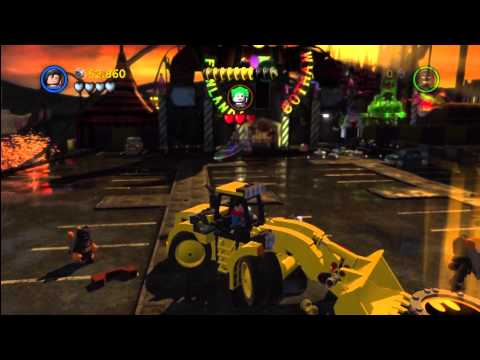 Lego Batman 2 DC Super Heroes: Level 2 FREE PLAY – 10 of 10 Mini Kits – HTG