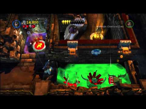 Lego Batman 2 DC Super Heroes: Level 3 /Arkham Asylum Antics Trophy/Achievment – HTG