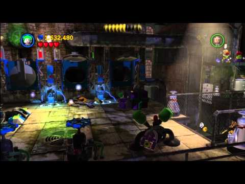 Lego Batman 2 DC Super Heroes: Level 5 FREE PLAY – 10 of 10 Mini Kits and Citizen in Peril – HTG