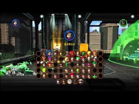 Lego Batman 2 DC Super Heroes: Level 9 FREE PLAY – 10 of 10 Mini Kit Locations – HTG