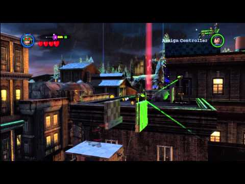 Lego Batman 2 DC Super Heroes: North Gotham City Island Gold Brick Locations 2/2 – HTG