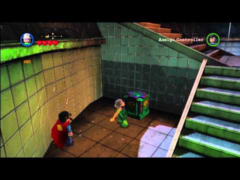 Lego Batman 2 DC Super Heroes: Red Brick Locations Central Gotham Island – HTG
