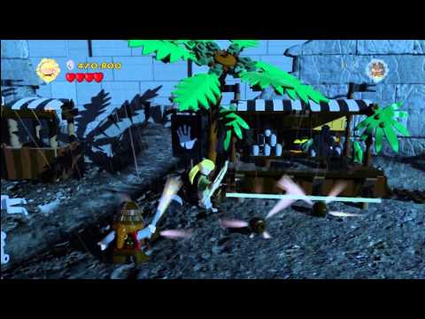 Lego Lord of the Rings: Level 11/Helms Deep – FREE PLAY – All Collectables – HTG