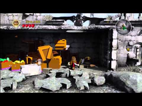 Lego Lord of the Rings: Level 12/Osgiliath – FREE PLAY – All Collectables – HTG