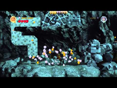 Lego Lord of the Rings: Level 13/The Secret Stairs – FREE PLAY – All Collectables – HTG