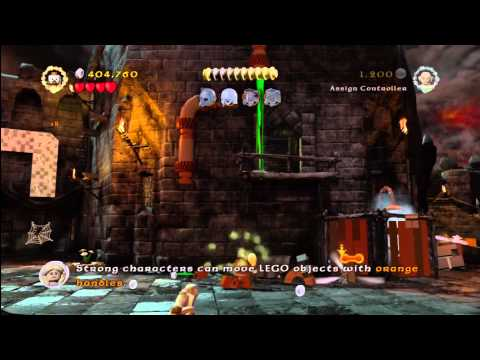 Lego Lord of the Rings: Level 14/Cirith Ungol – FREE PLAY – All Collectables – HTG