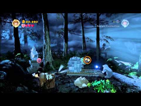 Lego Lord of the Rings: Level 2/The Black Rider FREE PLAY – All Collectables – HTG