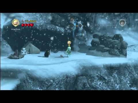 Lego Lord of the Rings: Level 4/The Pass Of Caradhras – FREE PLAY – All Collectables – HTG