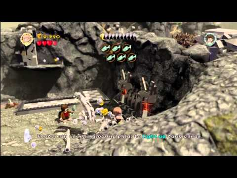 Lego Lord of the Rings: Level 7/Taming Gollum – On The Precious Trophy/Achievement – HTG