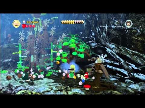Lego Lord of the Rings: Level 9/Track Hobbits – FREE PLAY – All Collectables – HTG