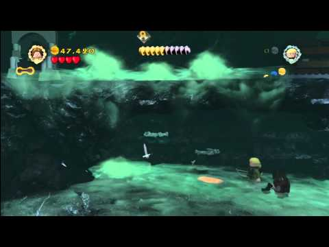 Lego Lord of the Rings: Lvl 15/The Paths Of The Dead- The Have Been Summoned Trophy/Achievement- HTG