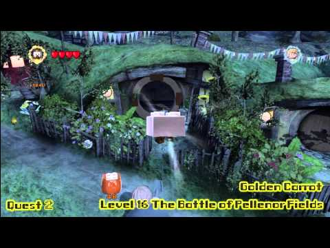 Lego Lord of the Rings: Middle Earth Free Roam – Hobbiton Collectables – HTG