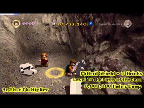 Lego Lord of the Rings: RED BRICK Locations for Stud Multipliers – HTG
