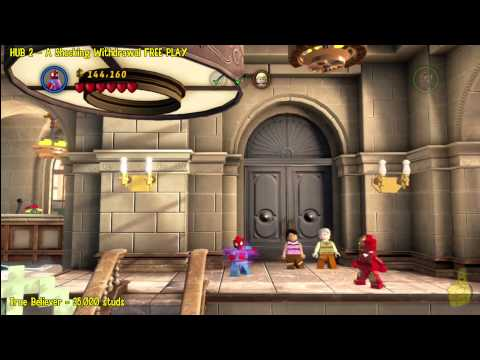 Lego Marvel Super Heroes: HUB 2 A Shock Withdrawal – FREE PLAY – HTG