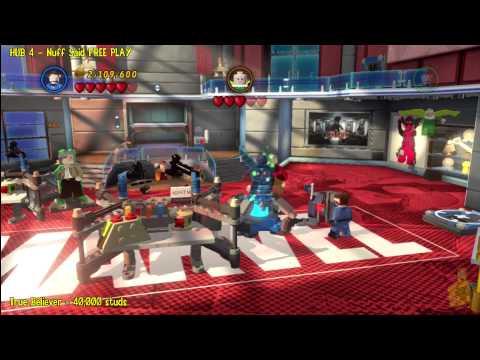 Lego Marvel Super Heroes: HUB 4 Nuff Said – FREE PLAY – HTG