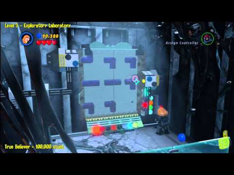 Lego Marvel Super Heroes: Level 3 Exploratory Laboratory – Story Walkthrough – HTG