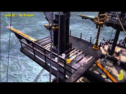 Lego Pirates of the Caribbean: Level 10 The Kraken – Story Walkthrough – HTG