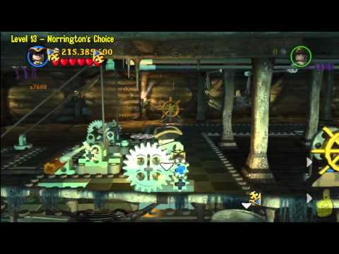 Lego Pirates of the Caribbean: Level 13 Norringtons Choice – FREE PLAY (Minikits and Compass) – HTG