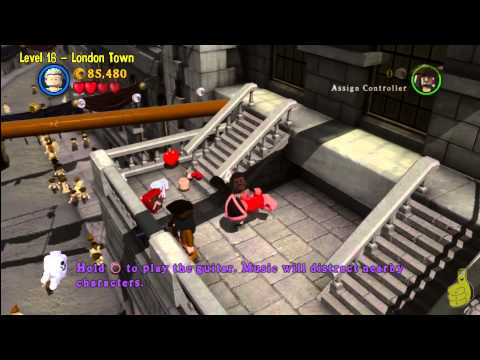 Lego Pirates of the Caribbean: Level 16 London Town – Story Walkthrough – HTG