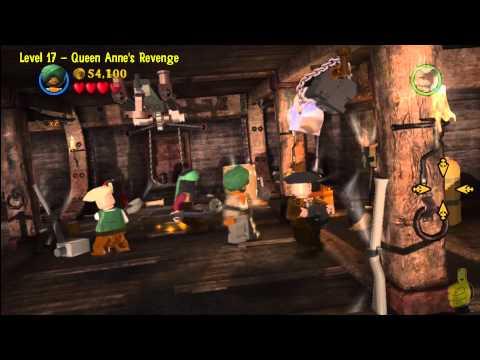 Lego Pirates of the Caribbean: Level 17 Queen Annes Revenge – Story Walkthrough – HTG
