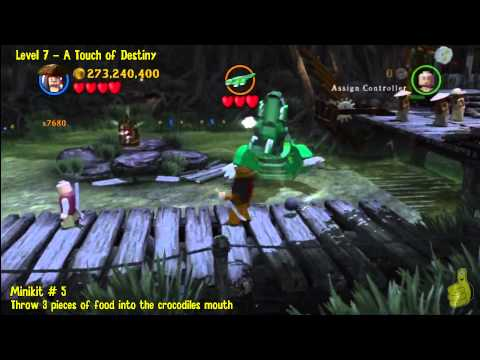 Lego Pirates of the Caribbean: Level 7 A Touch of Destiny – FREE PLAY (Minikits and Compass) – HTG