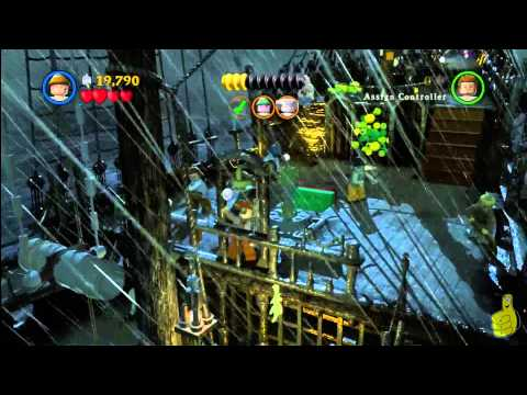 Lego Pirates of the Caribbean: Level 8 The Dutchman's Secret – Story Walkthough – HTG