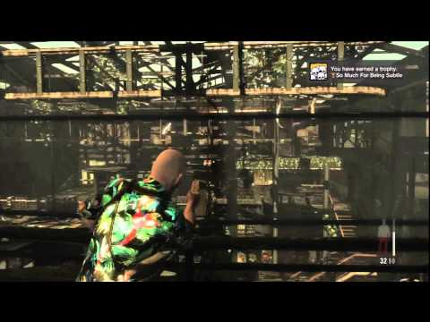 Max Payne 3: So Much For Being Subtle Trophy/Achievement – HTG