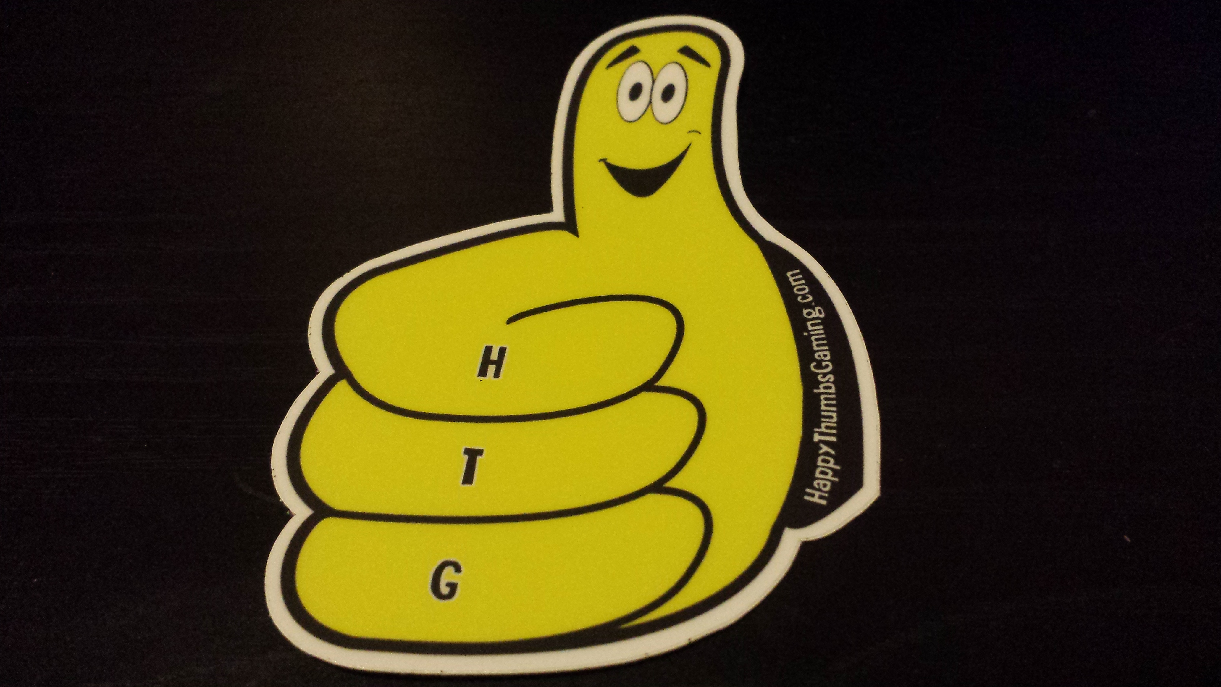 Thumby (single) vinyl sticker