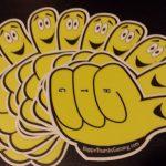 Thumby vinyl sticker 10 pack