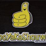 Combo-x1 (Thumby and BooYaKaShouw) vinyl stickers