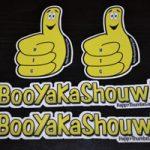 Combo-x2 (BooYaKaShouw and Thumby) vinyl stickers