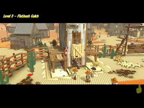 The Lego Movie Videogame: Level 3 Flatbush Gulch – FREE PLAY – (Pants & Gold Manuals) – HTG