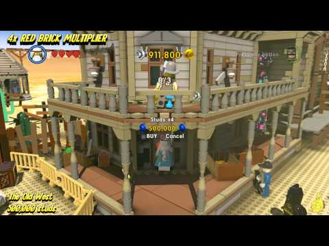 The Lego Movie Videogame: RED BRICK Stud Multiplier Locations (All Red Brick Stud Multipliers) – HTG