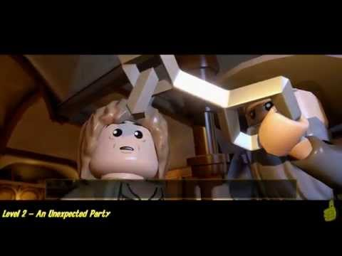 Lego The Hobbit: Level 2 – An Unexpected Party – STORY – HTG