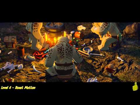 Lego The Hobbit: Level 4 – Roast Mutton – STORY – HTG