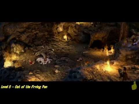 Lego The Hobbit: Level 8 – Out of the Frying Pan – STORY – HTG