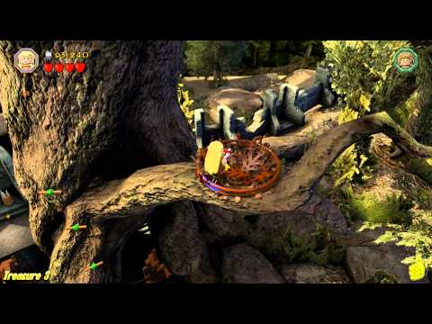 Lego The Hobbit: Level 11 Barrels out of Bond – FREE PLAY (All Minikits, Treasures & Design) – HTG