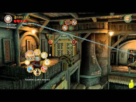 Lego The Hobbit: Level 12 A Warm Welcome – FREE PLAY (All Minikits, Treasures & Design) – HTG