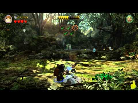 Lego The Hobbit: Level 5 Troll Hoard – FREE PLAY (All Minikits, Treasures & Design) – HTG